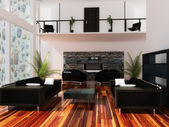Interior drawing room — Stockfoto