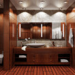 Bathroom interior — Stock Photo #4210782