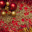 Background of christmas decoration — Stock Photo