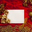 Christmas greeting card — Stock Photo #4360528