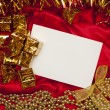 Christmas greeting card 2 — Stock Photo