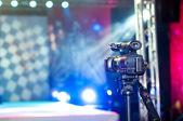 Camera near the podium — Stock Photo