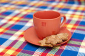 A cup with cookies — Stock Photo