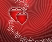 两颗心 — 图库照片