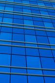 Blått glas — Stockfoto