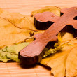 Stock Photo: Wooden cross 2