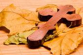 Wooden cross 2 — Stock Photo