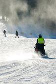 Ski slope — Stock Photo
