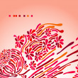 Greeting card — Image vectorielle
