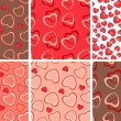 Background with hearts — Stock Vector #4634976