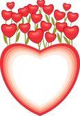 Heart full of love — Vettoriale Stock
