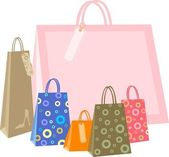 Shopping bag — Stockvektor
