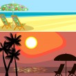 Beach banner — Stock Vector #5171263