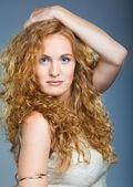 Güzel bayan portresi — Stok fotoğraf