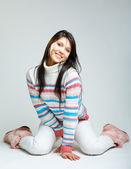 美丽的年轻女子 — 图库照片