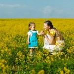 matka s dítětem — Stock fotografie