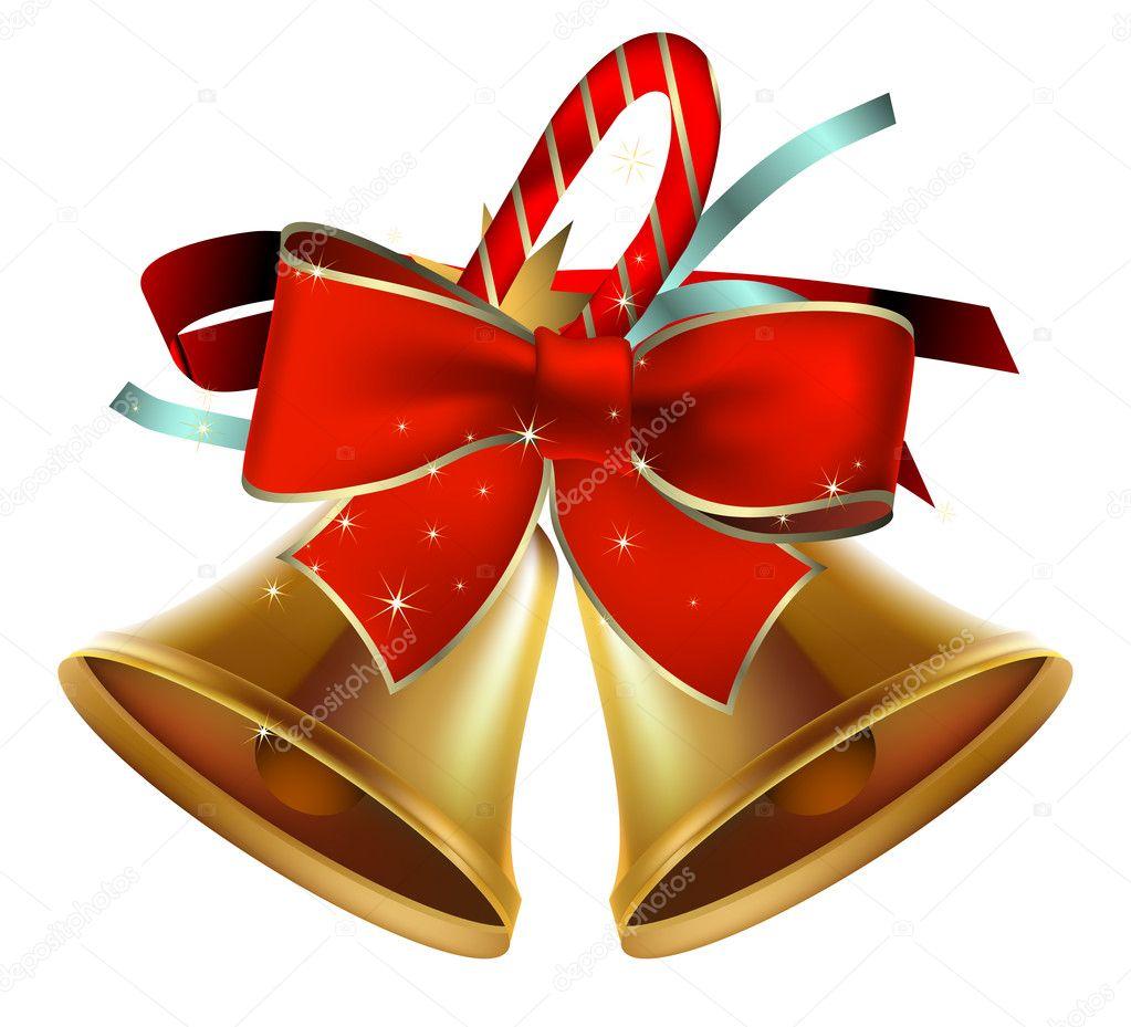 Christmas bells stock vector kjolak 4058496 - Campanas de navidad ...