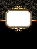 Sierlijke frame — Stockvector