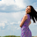 Happy beautiful woman — Stock Photo #4421865