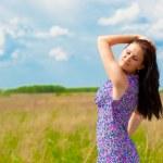 Summertime beauty — Stock Photo #4421922