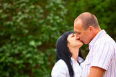 Young lovely couple — Stockfoto
