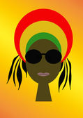 Rastaman — Stock Photo