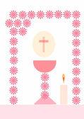 First communion — Stock Photo