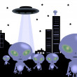 Stock Photo: Aliens