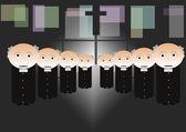 Priests — Stock Photo