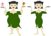 Dieta kobiety — Zdjęcie stockowe