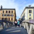 Milan,Navigli — Stock Photo