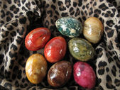 Marble eggs — Stock Photo
