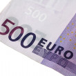 Five hundred euros - Stock Photo