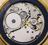 The mechanism of hours — Stock Photo