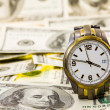 Stock Photo: Time is money.