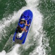 Biscayne Bay Jetskiers - Stockfoto