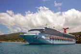 Caribische cruiseschip — Stockfoto