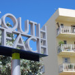 Постер, плакат: South Beach Signage and Low Rise Condo