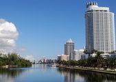 Miami Beach Hotels and Condos — Stock Photo