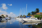 Ft.Lauderdale Waterfront View — Stock Photo