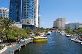 Riverwalk in Ft.Lauderdale — Stock Photo