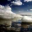 The Ladoga ice - Stock Photo