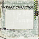 Christmas photo frame — Stock Photo #4392746