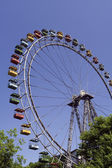 Old Ferris wheel — Stock Photo