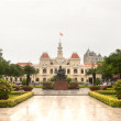Ho Chi Minh City Hall or Hotel de Ville de Saigon — Stock Photo