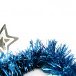 Christmas tinsel — Foto Stock