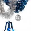 Shiny Christmas decorations — Stock Photo #4024499