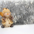 Stock Photo: Christmas background. Horizontal