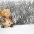 Christmas background. Horizontal — Stock Photo