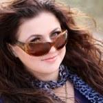 Beautiful lady in sunglasses — Stock Photo #4286504